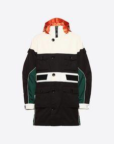VALENTINO UOMO PEA COAT U Casual technical jacket f