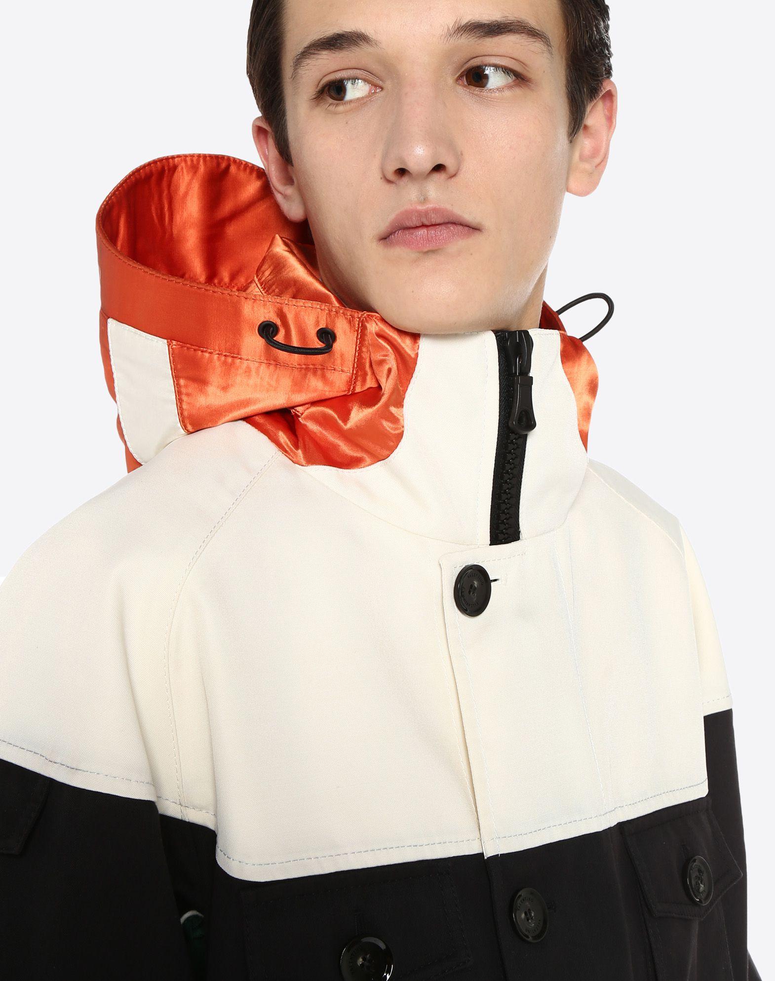 VALENTINO UOMO Casual technical jacket PEA COAT U a