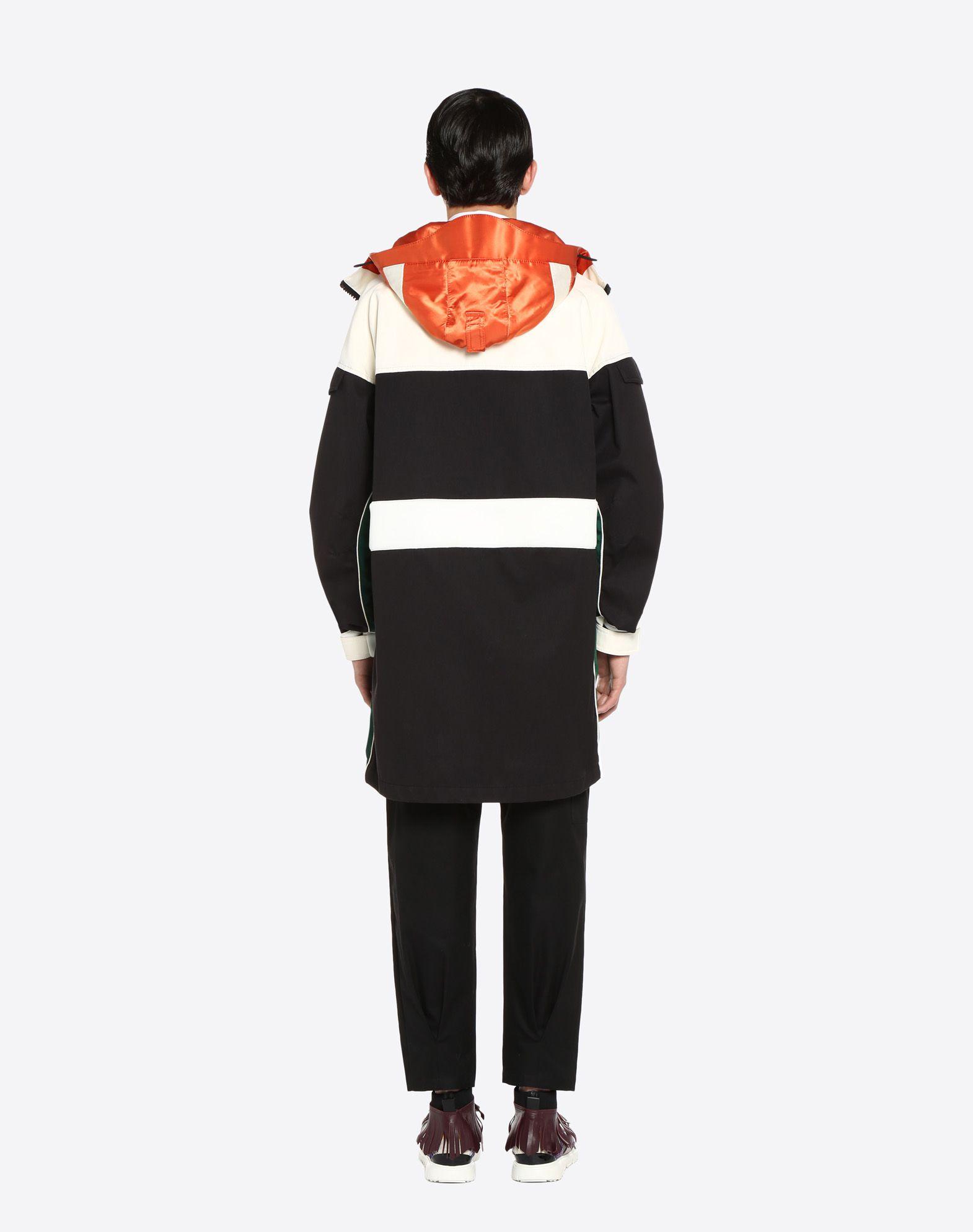 VALENTINO UOMO Casual technical jacket PEA COAT U e