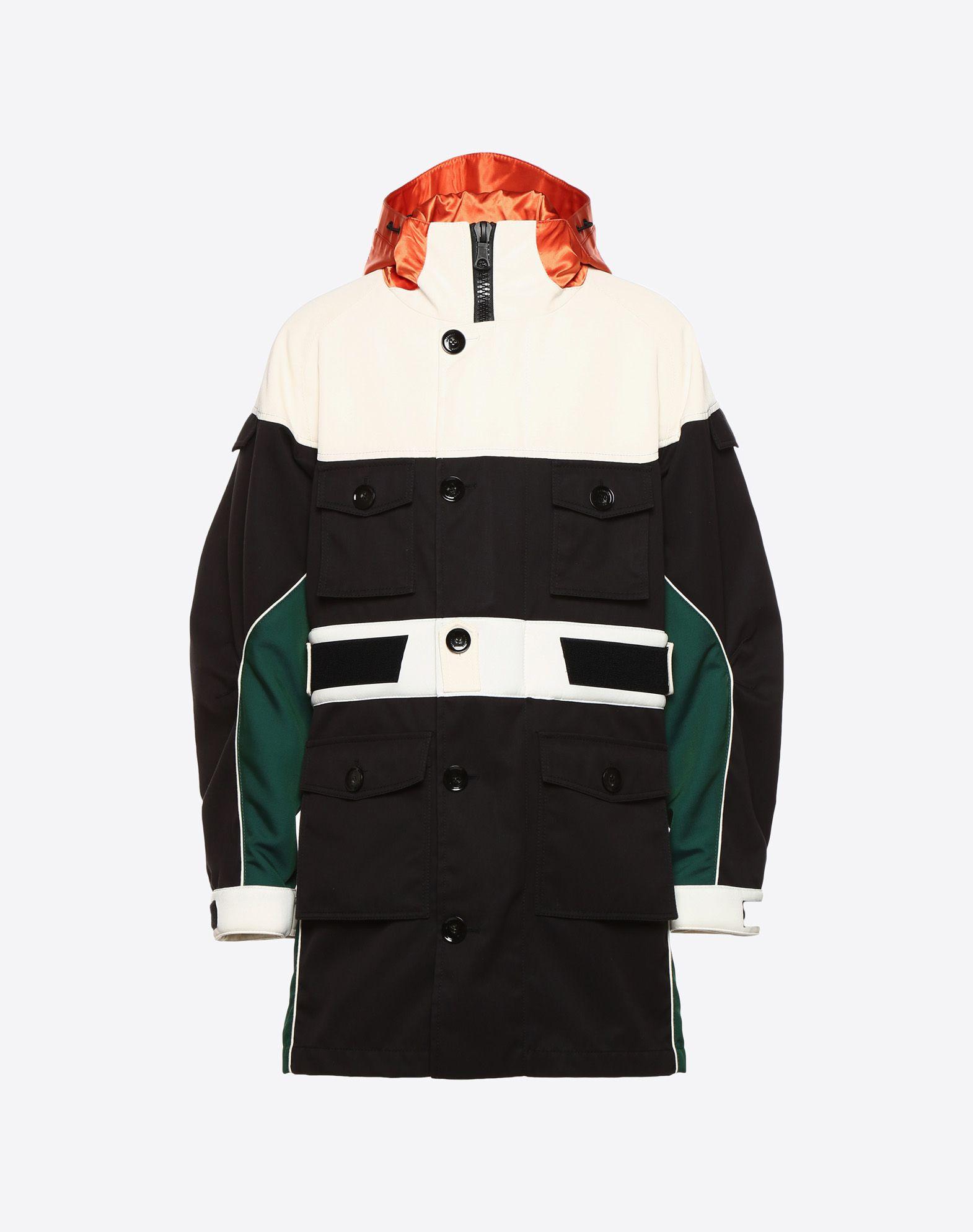 VALENTINO UOMO Casual technical jacket PEA COAT U f