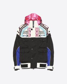 VALENTINO UOMO PEA COAT U Casual jacket with geometric embroidery f