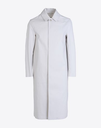 MAISON MARGIELA Raincoat U White Trench Crafted By Mackintosh f