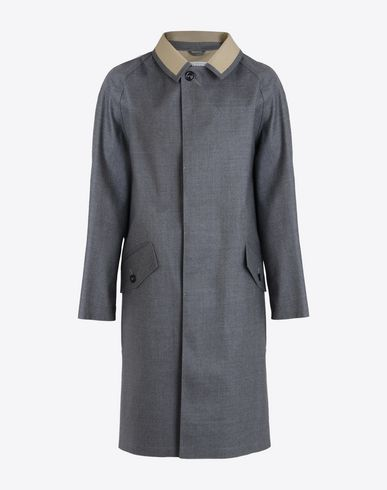 MAISON MARGIELA Raincoat U Grey Trench Crafted By Mackintosh f