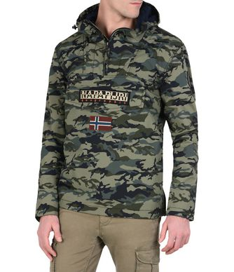 NAPAPIJRI RAINFOREST SUMMER CAMO MAN RAINFOREST,MILITARY GREEN