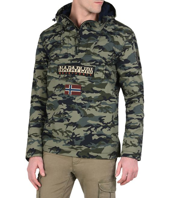 NAPAPIJRI RAINFOREST SUMMER CAMO Rainforest Man f