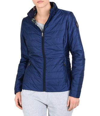 NAPAPIJRI ARAMBLA REVERSIBLE WOMAN PADDED JACKET,BRIGHT BLUE