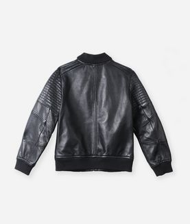 KARL LAGERFELD BOYS LEATHER JACKET