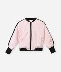 KARL LAGERFELD Karl signature pink bomber 8_f
