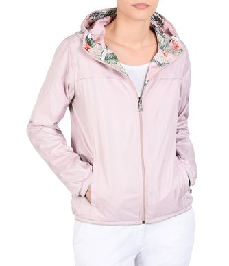NAPAPIJRI ATALAYA REVERSIBLE WOMAN SHORT JACKET,LIGHT PINK