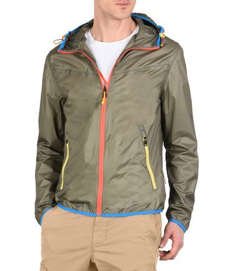 NAPAPIJRI ARRAS PACKABLE MAN SHORT JACKET,MILITARY GREEN