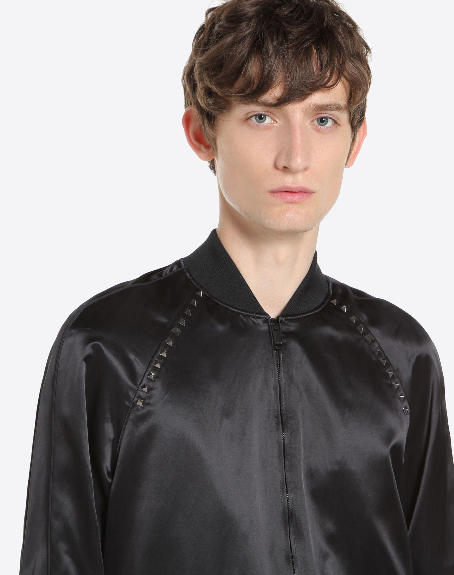 VALENTINO Rockstud Untitled Souvenir Jacket JACKET U a