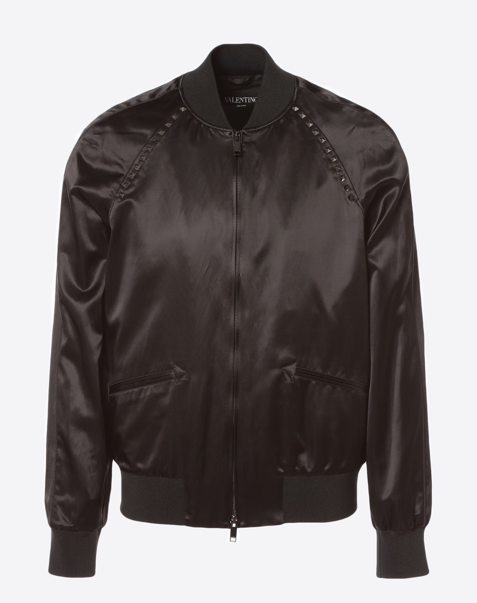 VALENTINO Rockstud Untitled Souvenir Jacket JACKET U f