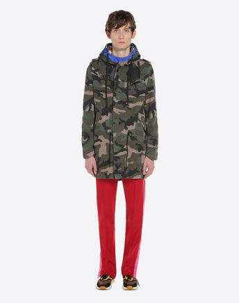 VALENTINO Down jacket U Reversible Camushuffle down coat r