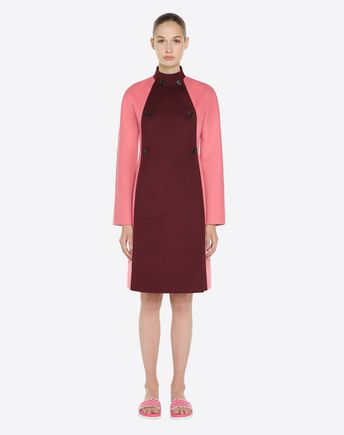 VALENTINO Trench D Hammered satin trench coat r
