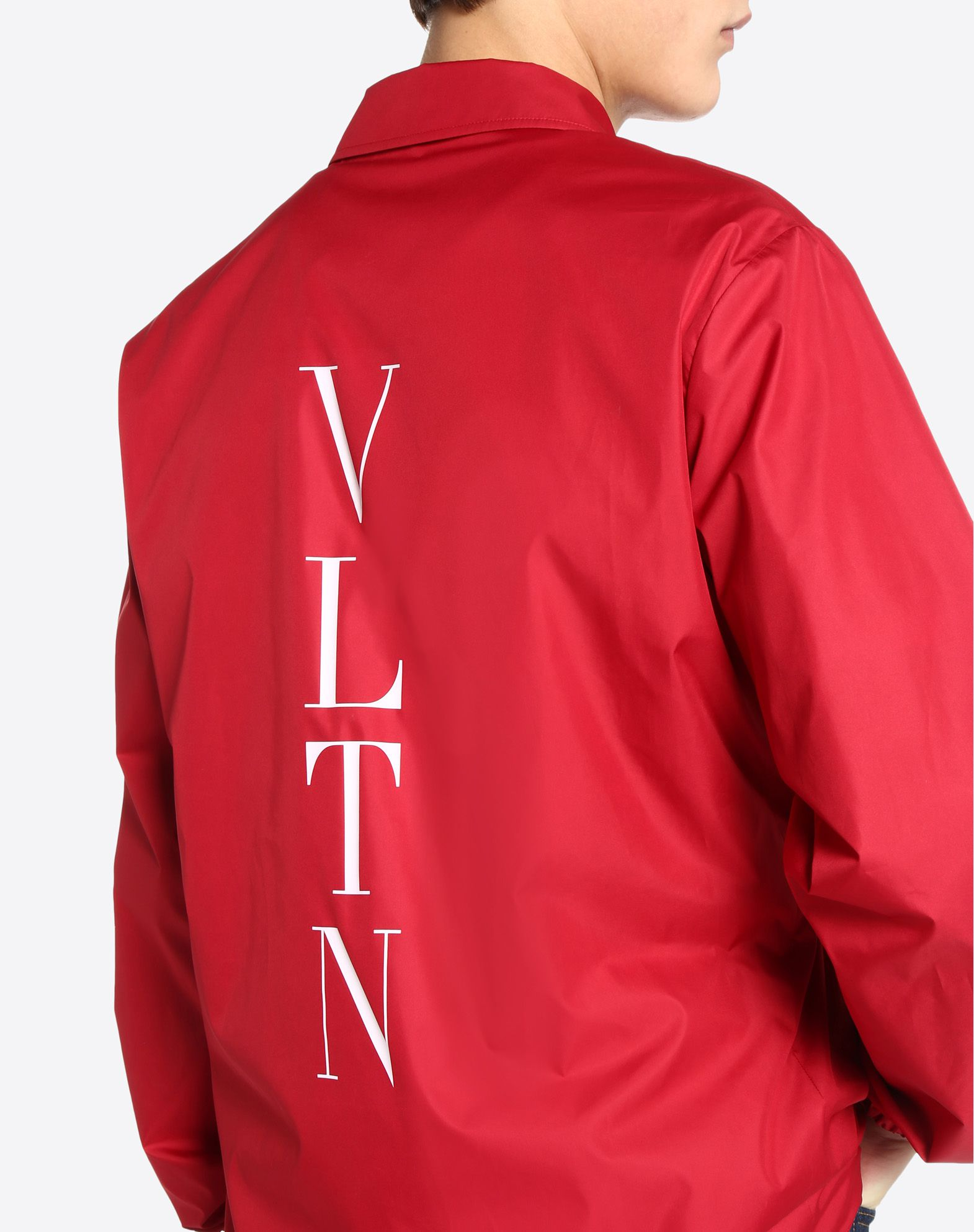 VALENTINO Coach jacket with VLTN print   JACKET U a