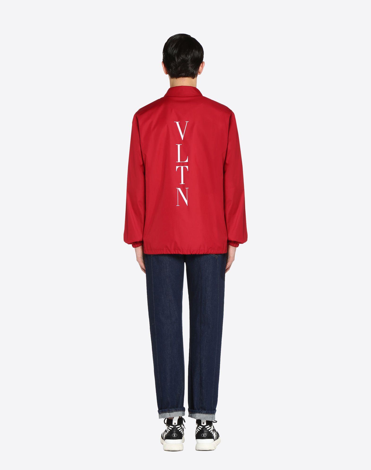 VALENTINO Coach jacket with VLTN print   JACKET U e