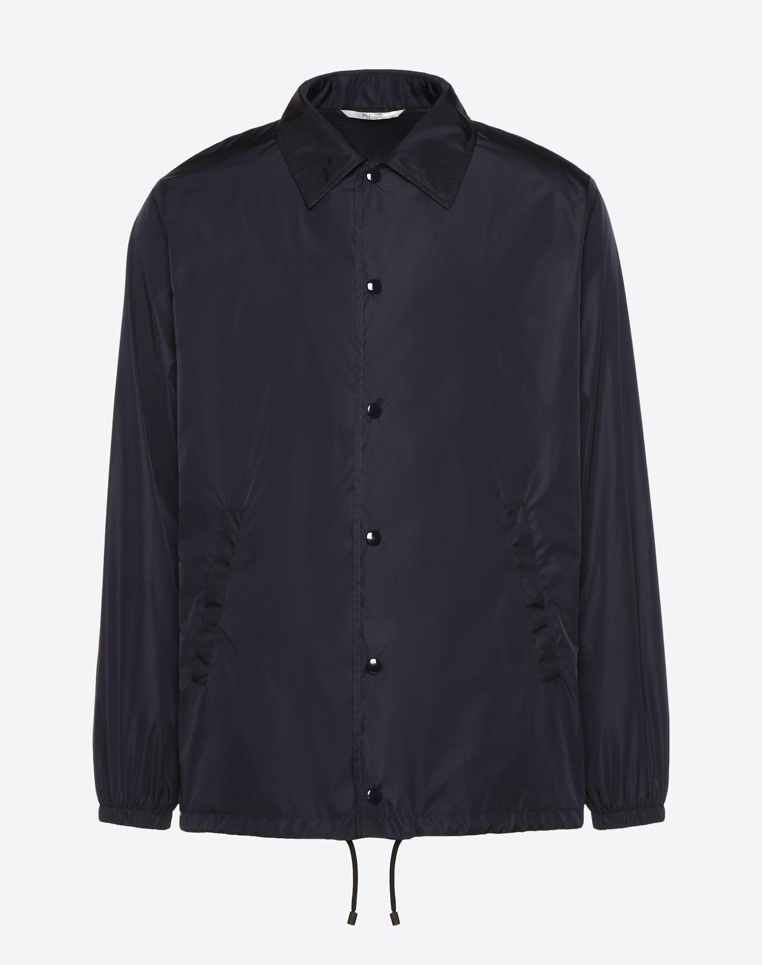 VALENTINO Coach jacket with VLTN print   JACKET U f