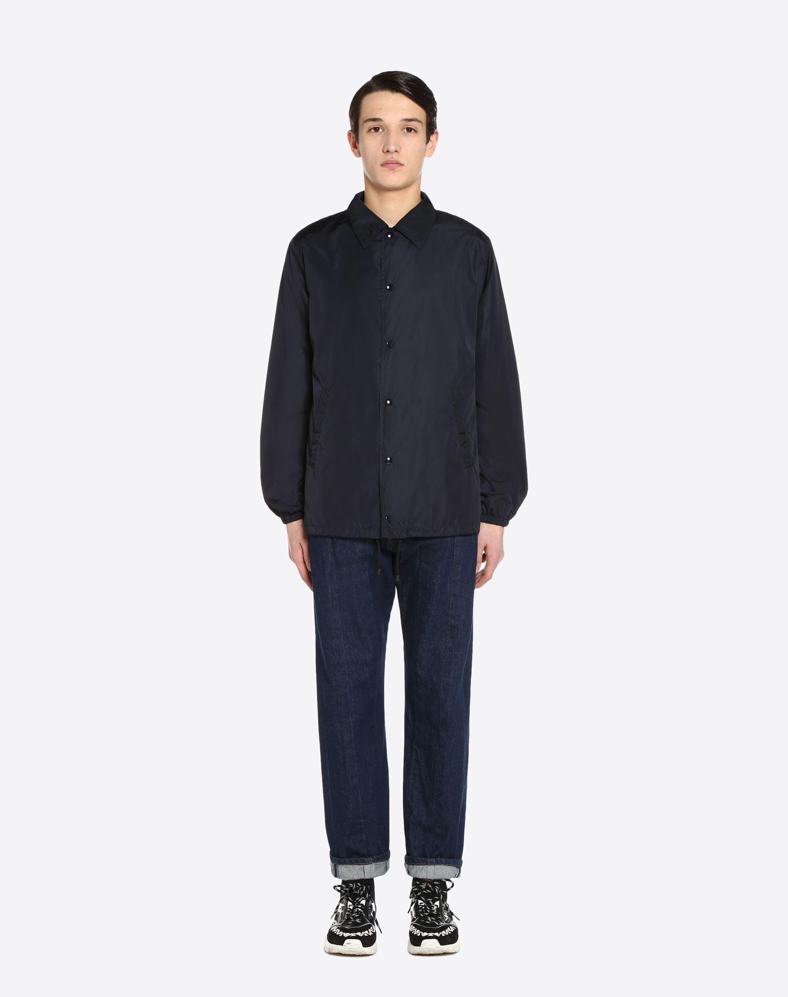 VALENTINO Coach jacket with VLTN print   JACKET U r
