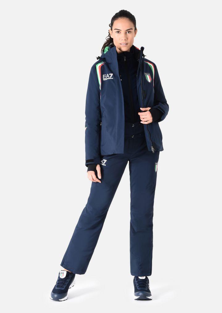 05a9acdbea Water-repellent ski jacket   Woman   Ea7