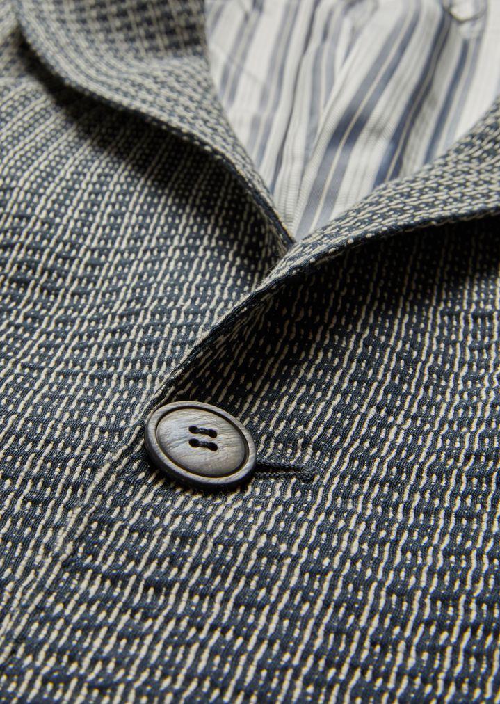 GIORGIO ARMANI Upton jacket in linen blend Formal Jacket Man b