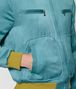 BOTTEGA VENETA LIGHT AQUA SILK JACKET Outerwear and Jacket Man ap