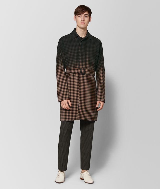 BOTTEGA VENETA DAHLIA NERO WOOL COAT Outerwear and Jacket Man fp