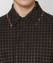 BOTTEGA VENETA DAHLIA NERO WOOL COAT Outerwear and Jacket Man ap