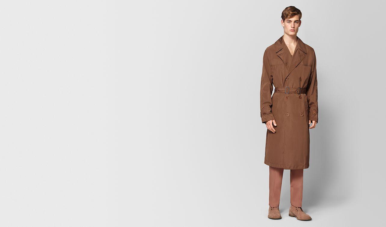 light calvados polyester coat  landing