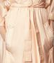 BOTTEGA VENETA LIGHT PEACH ROSE SILK COAT Outerwear and Jacket Woman ep