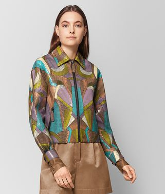 MULTICOLOR AYERS PATCHWORK JACKET