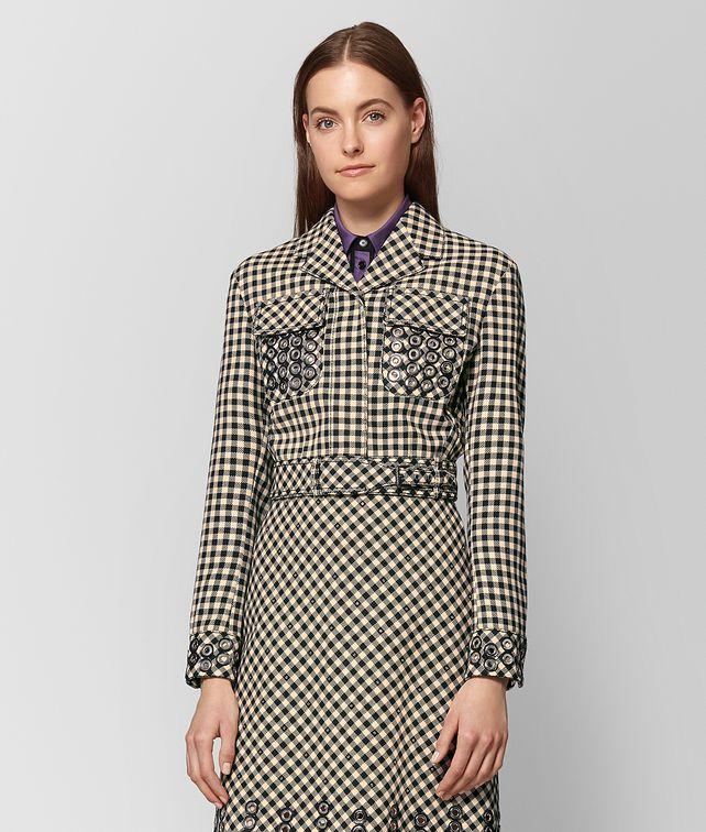 BOTTEGA VENETA PAILLE NERO COTTON JACKET Outerwear and Jacket Woman fp