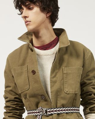 "ISABEL MARANT JACKET Man LAPER ""worker"" jacket  r"