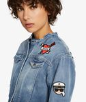 KARL LAGERFELD Captain Karl Patch Denim Jacket 8_r