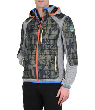 NAPAPIJRI AROY PACKABLE 2IN1 MAN SHORT JACKET,MILITARY GREEN
