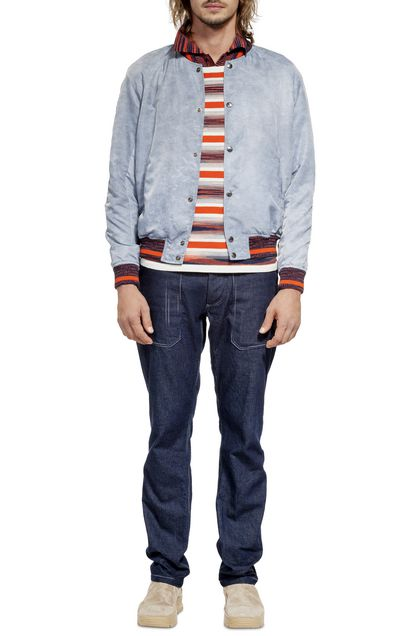 MISSONI Bomber Pastel blue Man - Back