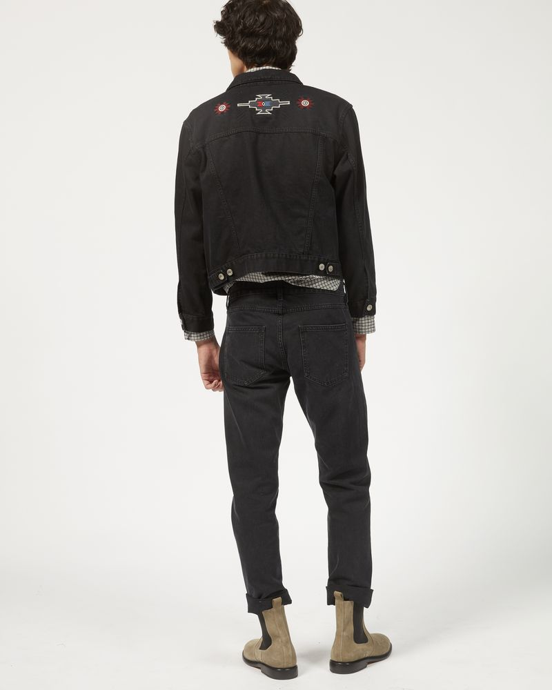 JANGO embroidered denim jacket ISABEL MARANT