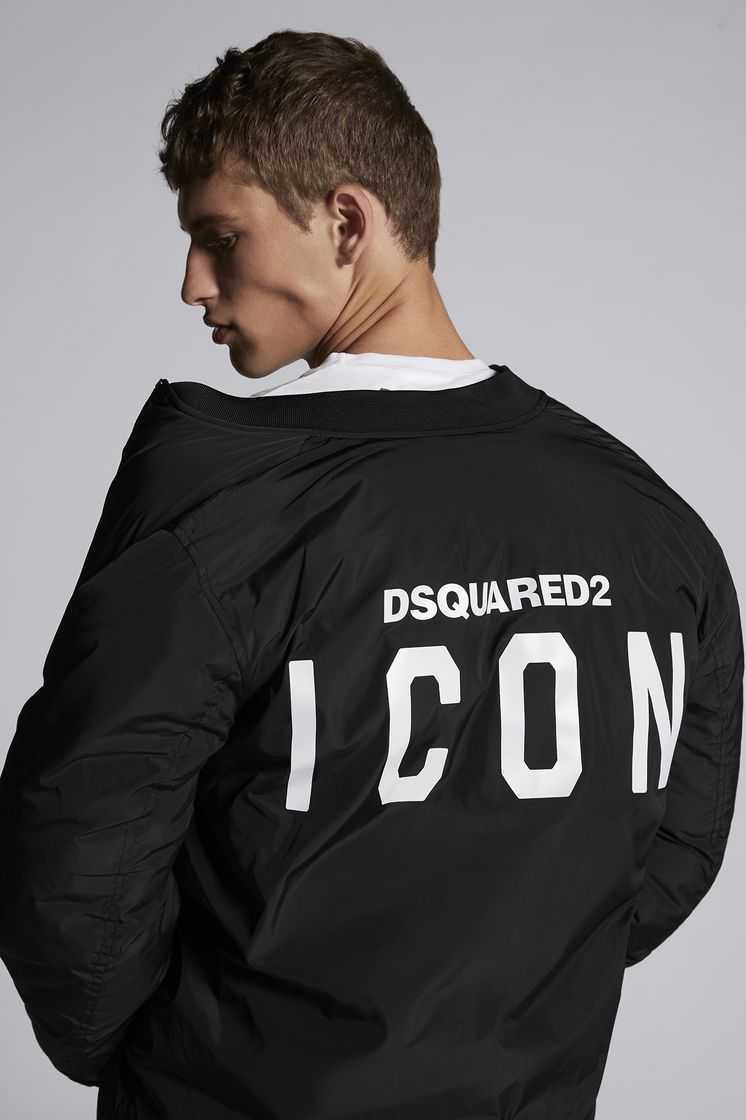 DSQUARED2 Icon Bomber Jacket Kaban Man