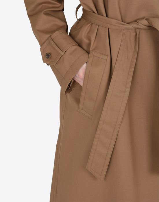 MAISON MARGIELA Oversized cut-out trench coat  Raincoat Woman b