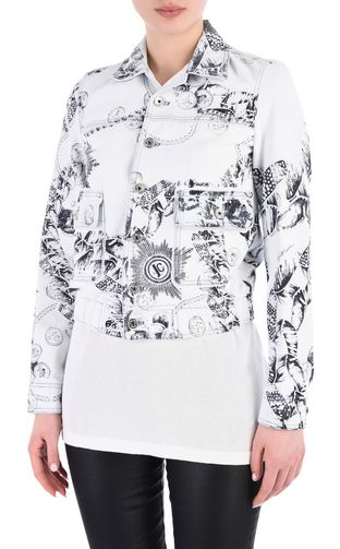Chain Reaction print Jacket