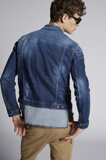 DSQUARED2 Denim outerwear Man S74AM0786S30309470 b