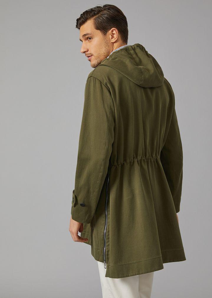 Parka jacket e