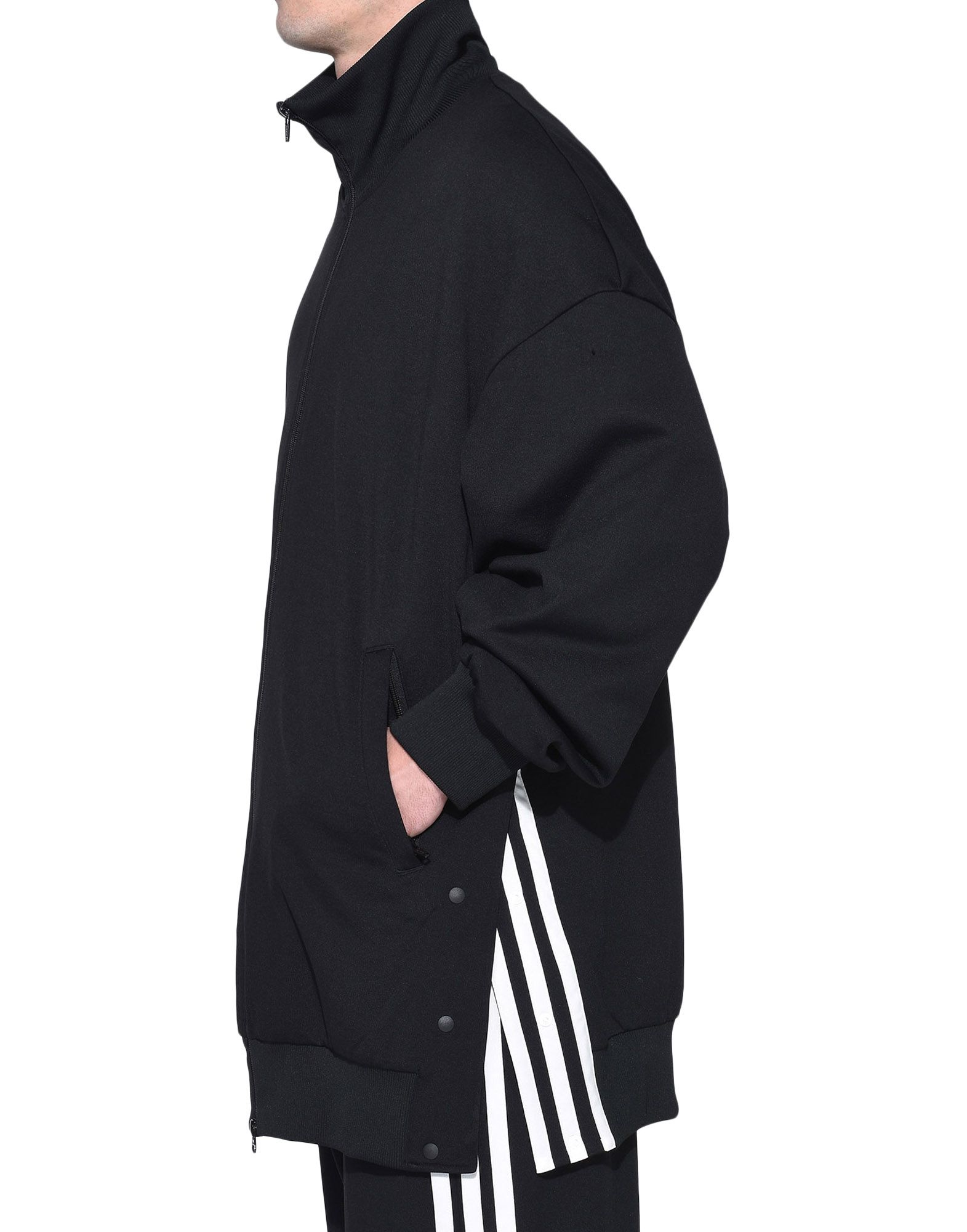 Y-3 Y-3 3-Stripes Matte Snap Track Jacket Track top Man e