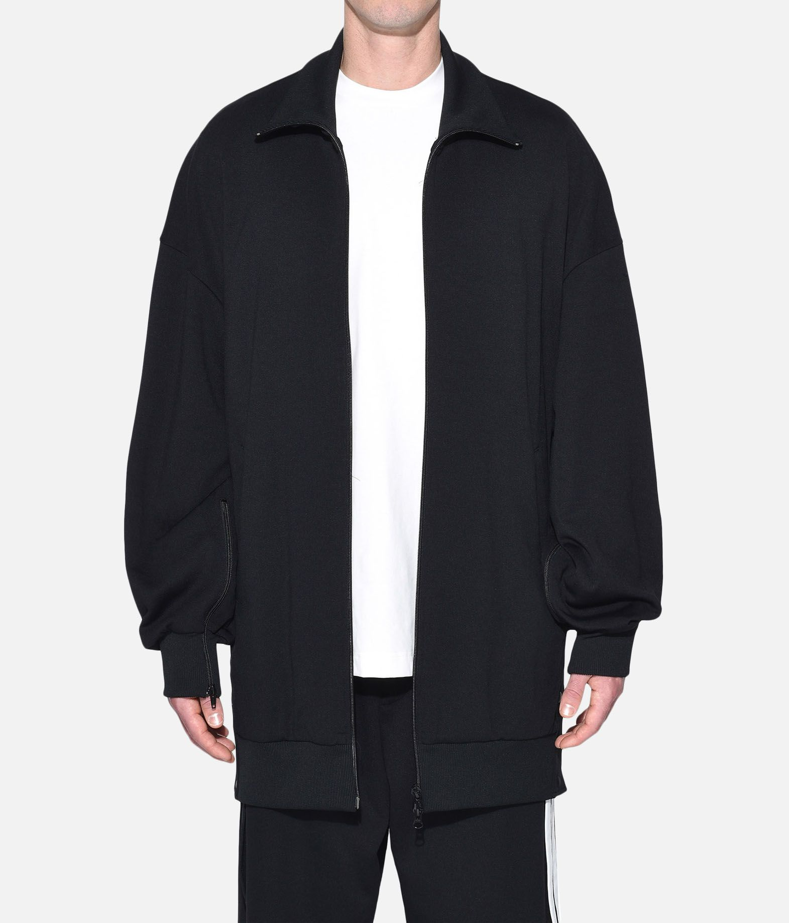 Y-3 Y-3 3-Stripes Matte Snap Track Jacket Track top Man r