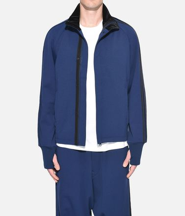 Y-3 Track top Uomo Y-3 3-Stripes Selvedge Matte Track Jacket r