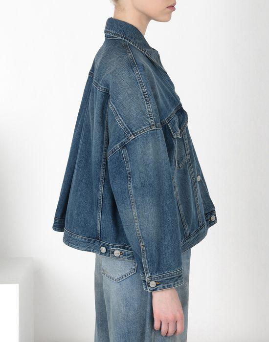 MM6 MAISON MARGIELA Cocoon-shape denim jacket Blazer [*** pickupInStoreShipping_info ***] a
