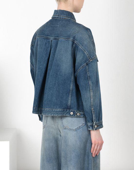 MM6 MAISON MARGIELA Cocoon-shape denim jacket Blazer [*** pickupInStoreShipping_info ***] d