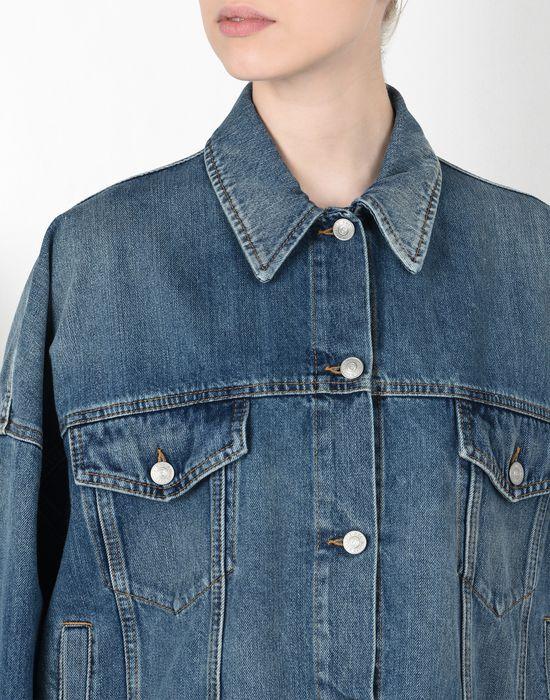 MM6 MAISON MARGIELA Cocoon-shape denim jacket Blazer [*** pickupInStoreShipping_info ***] e