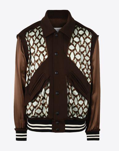 MAISON MARGIELA Blazer U Patchwork bomber jacket f