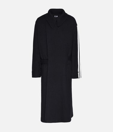 Y-3 Tailored Wool Coat