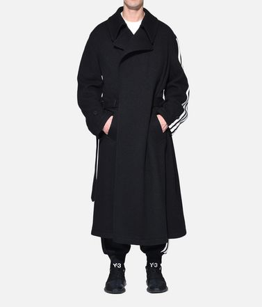 Y-3 Cappotto Uomo Y-3 Tailored Wool Coat r